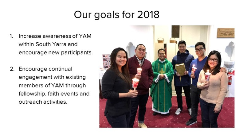YAM AGM Our goals 2018
